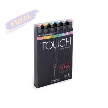2655 3 touch twin marker 6ks pastelove tony