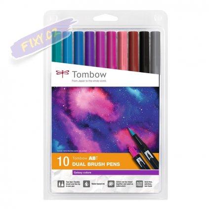 26580 2 tombow abt akvarelovy dual brush pen 10ks galaxy