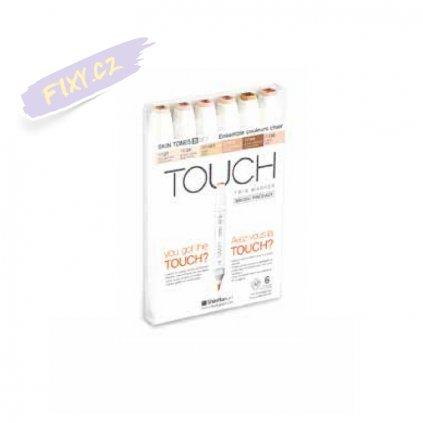 2721 touch twin brush marker 6ks pletove tony b