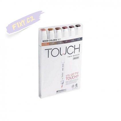2724 3 touch twin brush marker 6ks tony dreva