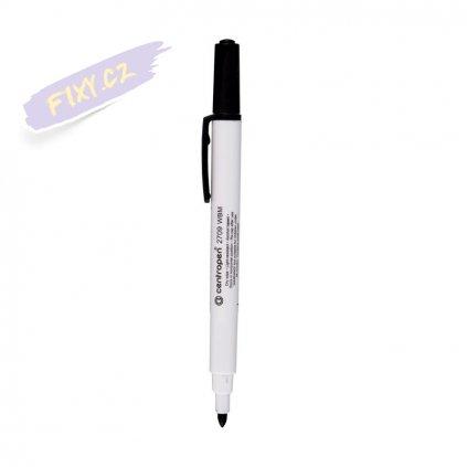 27741 1 stiratelny whiteboard tenky centropen 2709 cerny
