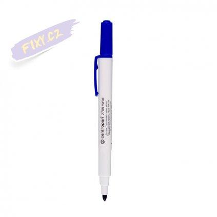 27744 1 stiratelny whiteboard tenky centropen 2709 modry