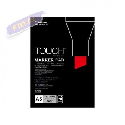 2787 1 blok a5 touch marker pad 20 listu