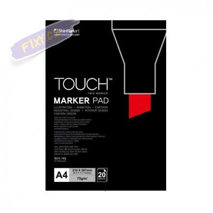 2790 1 blok a4 touch marker pad 20 listu