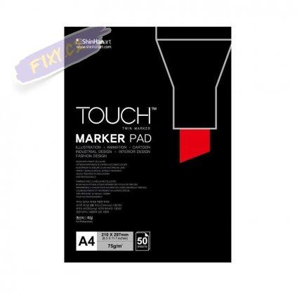 2793 1 blok a4 touch marker pad 50 listu