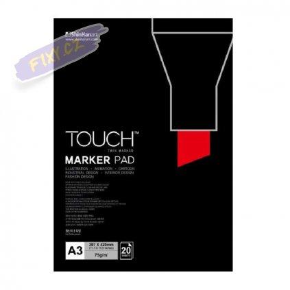 2796 1 blok a3 touch marker pad 20 listu
