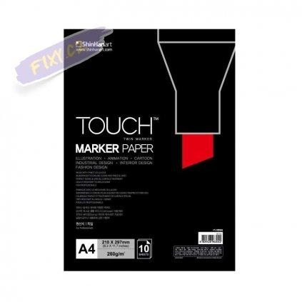 2799 1 blok a4 touch marker paper 10 listu