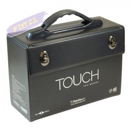 2817 1 kufr touch prazdny na 48ks cerny