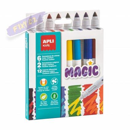 28401 1 apli popisovac na textil kids 8ks magic