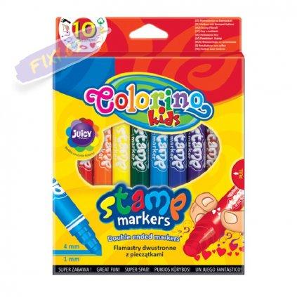 28503 1 colorino fixy stamp 10 barev