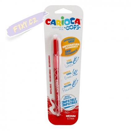 30111 1 gumovaci roller carioca oops cerveny