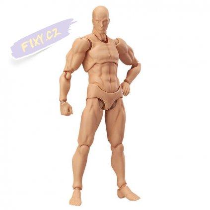 31035 4 kloubova figurka pletova muz