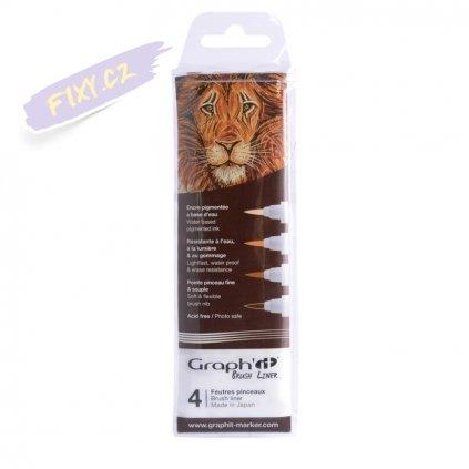 31899 1 graph it liner brush 4ks brown