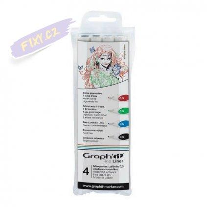 31902 1 graph it liner 0 5mm 4ks colors