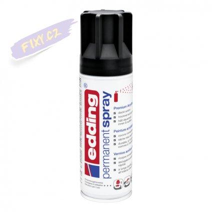 32526 2 akrylovy sprej edding 5200 cerna matna 901