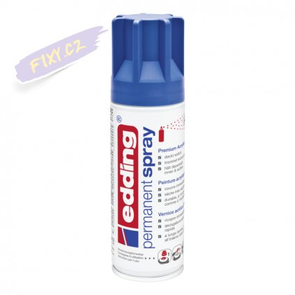 32532 2 akrylovy sprej edding 5200 enzianova modra matna 903