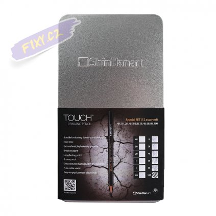 TOUCH DRAWING PENCIL Tin SET OF 12