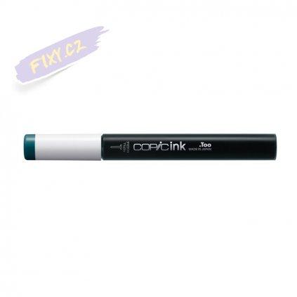 5535 6 bg09 blue green copic refill ink 12ml