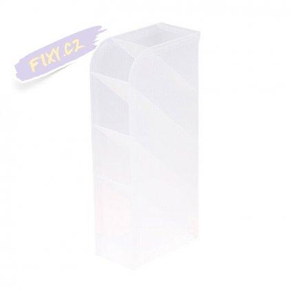6834 3 plastovy stojanek na fixy mlecny