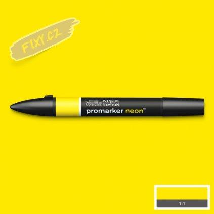 8136 4 winsor newton promarker neon lihovy luminous yellow