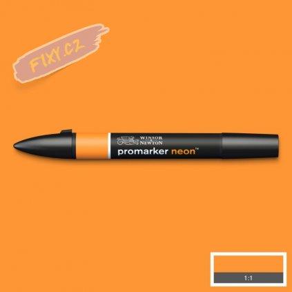 8139 4 winsor newton promarker neon lihovy radiant orange