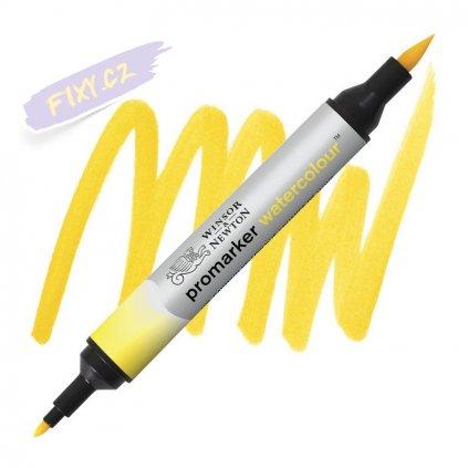 8205 2 winsor newton promarker akvarelovy 109 cadmium yellow hue