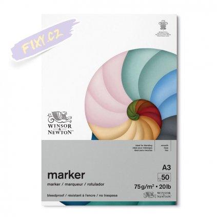 8370 1 winsor newton bleedproof paper pad a3 50 listu