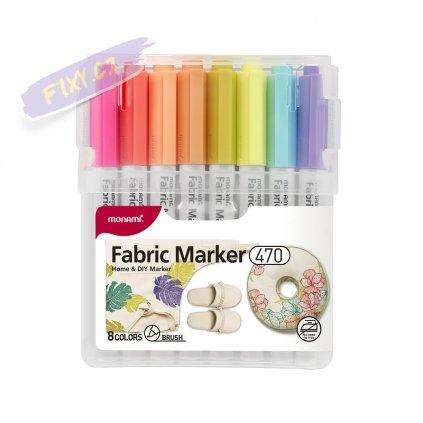 8934 1 monami na textil 470 brush 8ks pastelove