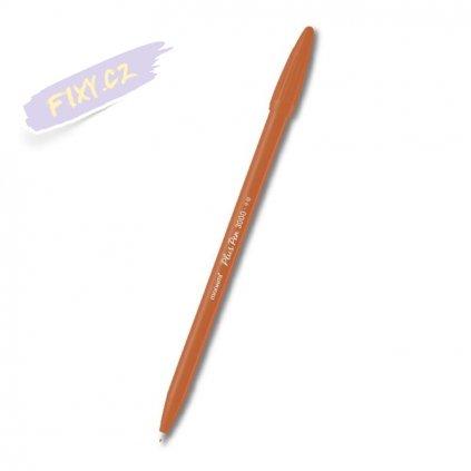 9024 3 monami popisovac pen plus 3000 okrovy
