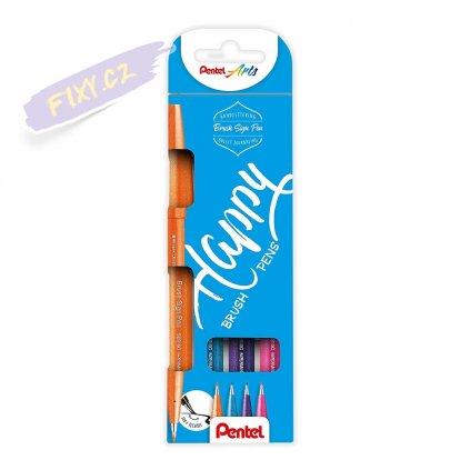 930 1 pentel touch brush sign pen 4ks sekundarni