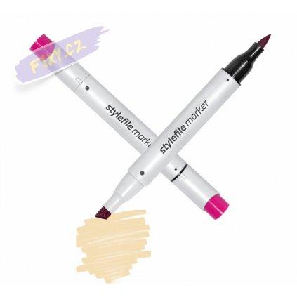 9648 2 112 cream stylefile brush marker