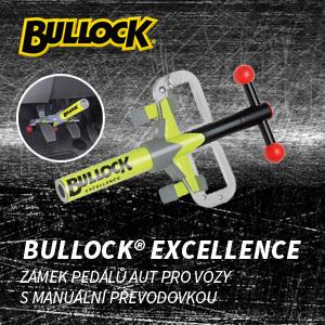 Zámek pedálů aut Bullock Excellence