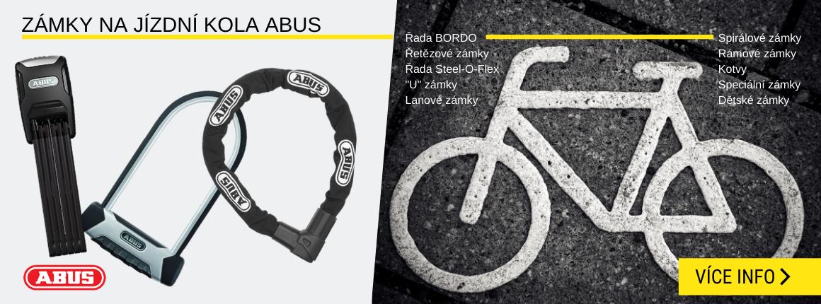 Zámky na jízdní kolo Abus