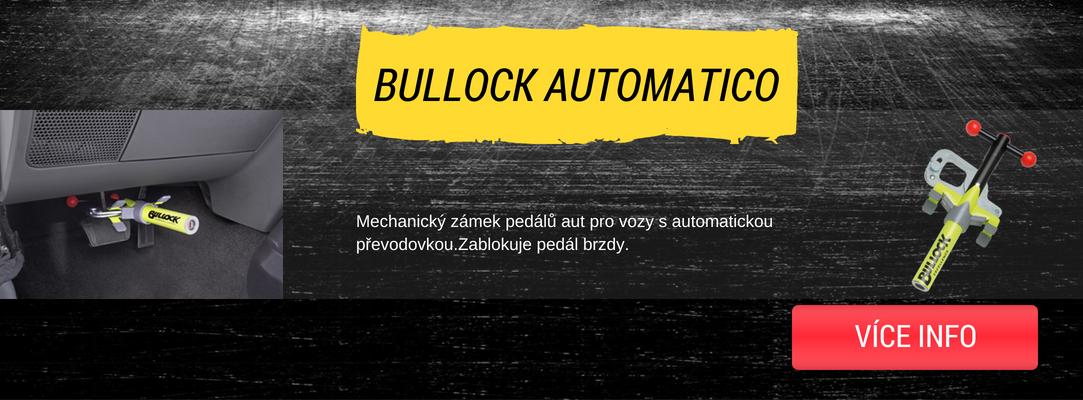 Bullock automatico zámek pro vozy s automatickou převodovkou