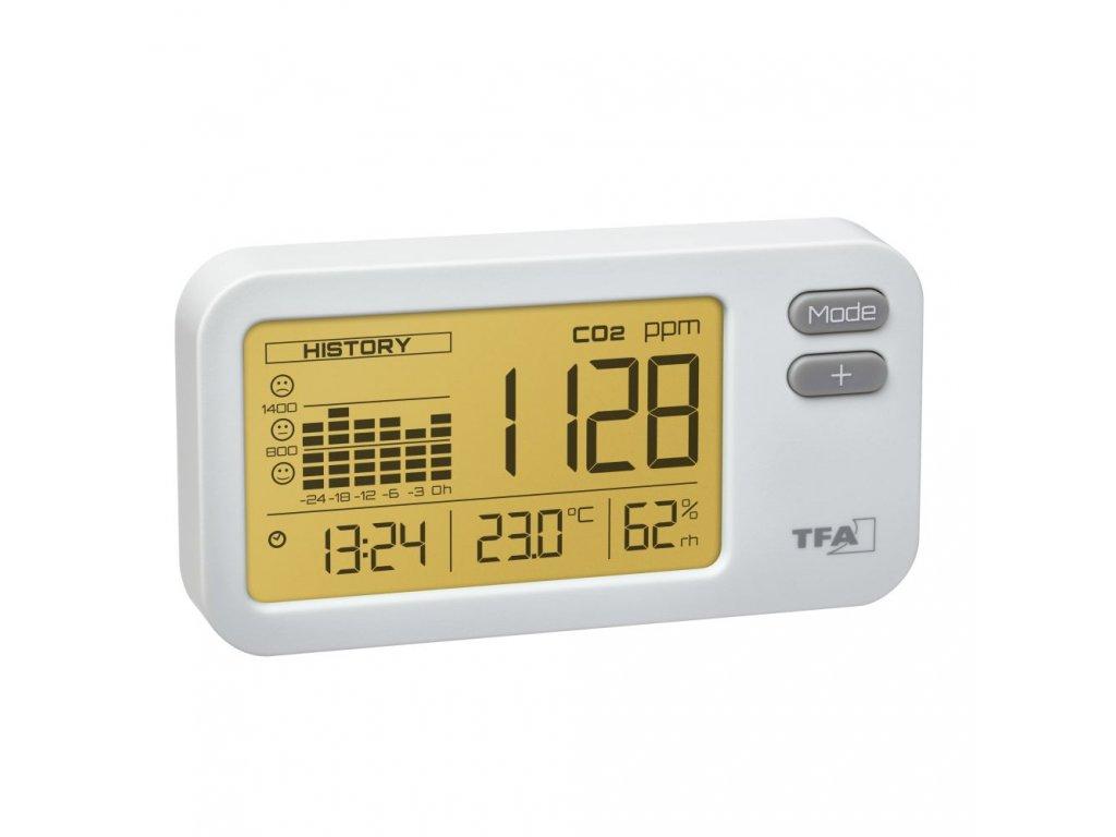 Indikátor oxidu uhličitého TFA 31.5009.02 AIRCO2NTROL COACH