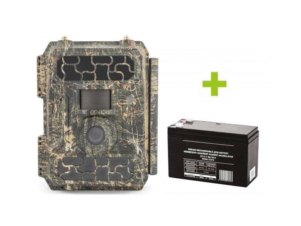 fotopast oxe panther 4g externi akumulator a napajeci kabel 72715