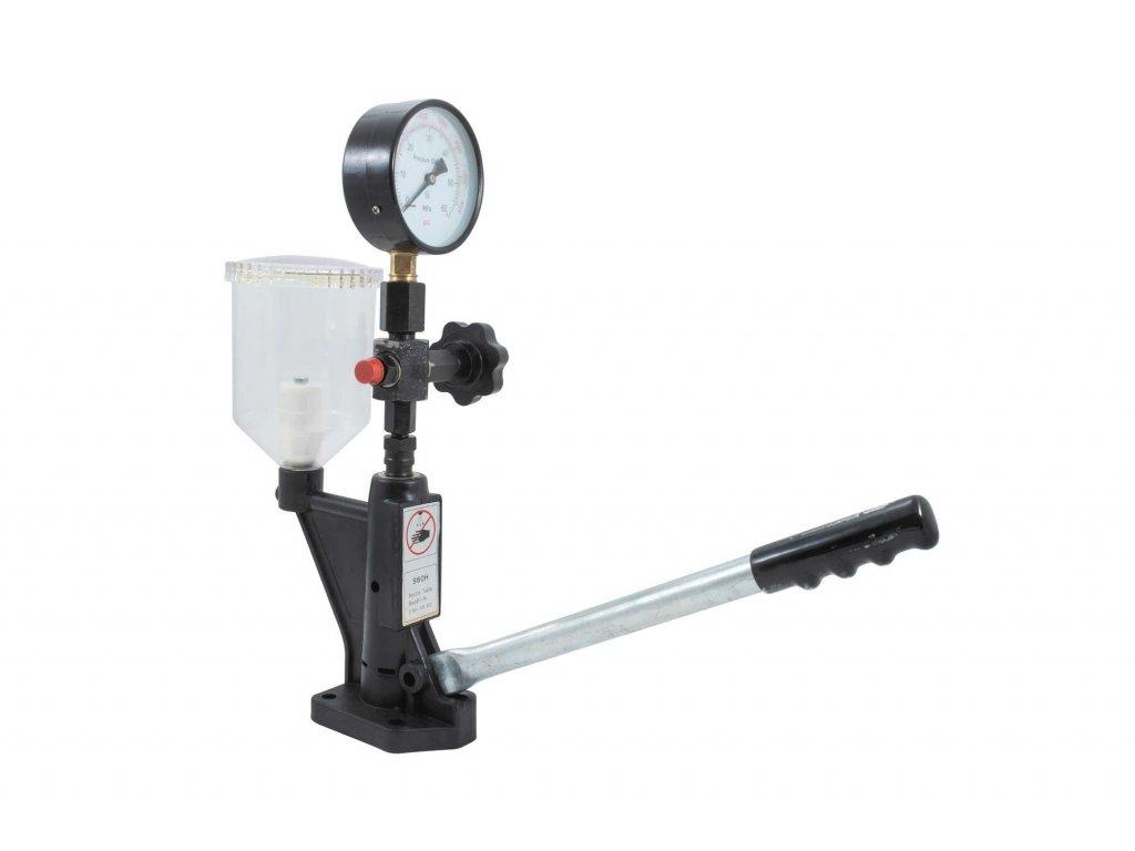 Přípravek na měření vstřikovacích trysek dieselových motorů s tlakem do 600 Bar QUATROS