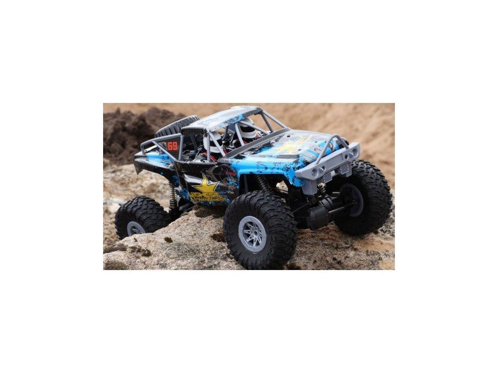 HOT MONSTER - Odolný pomalejší crawler 4x4