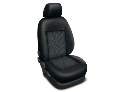Autopotahy FORD COURIER, 5 míst, od r. 2014, AUTHENTIC PREMIUM žakar Audi