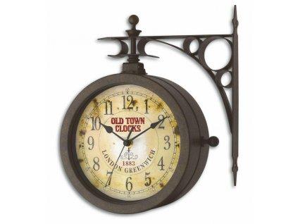 TFA 60.3011 - Zahradní hodiny s teploměrem  OLD TOWN