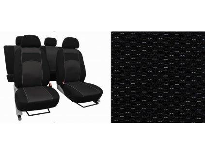 Autopotahy MAZDA CX 5 II, od r. 2017, VIP černé