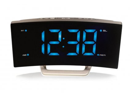 LED digitální budík s FM radiopřijímačem model WT 460