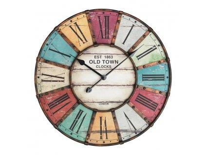 TFA 60.3021 - Nástěnné hodiny velikosti XXL VINTAGE