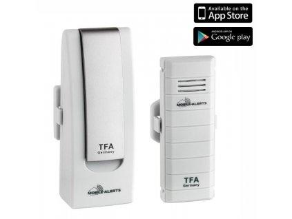 Bezdrátový monitor klimatu TFA 31.4001.02 WEATHERHUB - startovní balíček č. 1