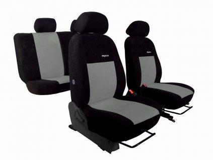 Autopotahy SEAT ARONA, od r. 2017, ELEGANCE šedé