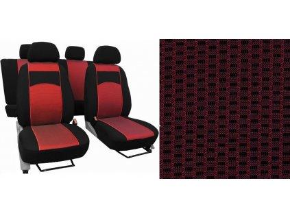 Autopotahy SEAT ARONA, od r. 2017, VIP červené