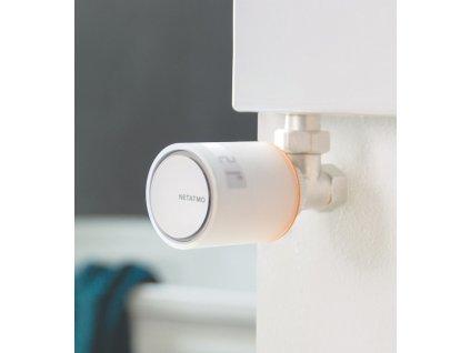 Netatmo - samostatné radiátorové termohlavice