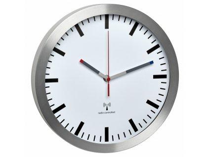 TFA 60.3528.02 - Nástěnné DCF hodiny  s tichým chodem