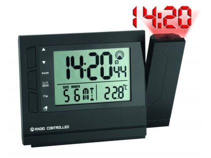 TFA 60.5008 - Rádiem řízené hodiny s projektorem a teploměrem