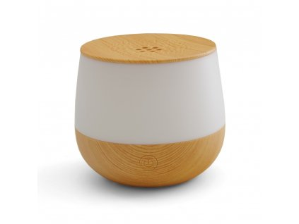 Aroma difuzér s možností osvětlení Airbi LOTUS - světlé dřevo